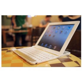 Aluminum Keyboard Buddy Case - Bluetooth клавиатура для iPad 2